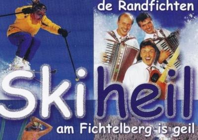 Ski heil, am Fichtelberg is geil